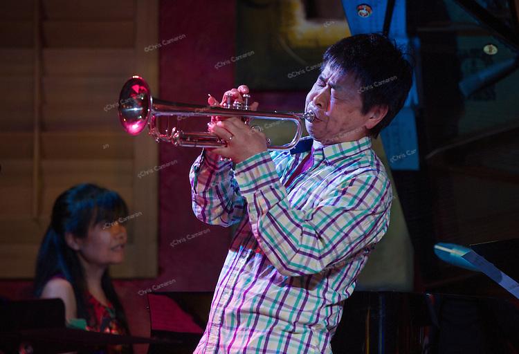 Natsuki Tamura and Sakoto Fujii at IronWorks, June 23, TD Vancouver International Jazz Festival