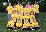 June 12, 2017- Tuscola, IL- The 2017 Tuscola Moose softball team. Coaches from left are Nick Kidwell, Josh Bales, Ron Smith, and Darin Strack. Players standing from left are Addison Strack, Aubrey Carter, Madison Piat, and Alaina Smith. Kneeling from left are Anialei McCollom, Kady Cler, Adrina Dill, and Mia Bratten. Sitting from left are Hannah Kidwell, Kori Rich, Kayleigh Bales, and Carleigh Kleiss. [Photo: Douglas Cottle]