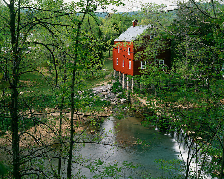 The Sergeant Alvin York Grist Mill on the Wolf River; Fentress County, TN
