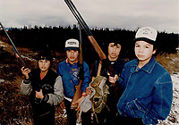 1987 FILE PHOTO - ARCHIVES -<br /> <br /> Waskaganish<br /> <br /> 1987<br /> <br /> PHOTO :  Collin McConnell - Toronto Star Archives - AQP