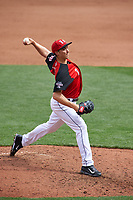 Team USA pitcher Blake Snell (11) in action during the MLB All-Star Futures Game on July 12, 2015 at Great American Ball Park in Cincinnati, Ohio.  (Mike Janes/Four Seam Images)