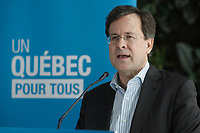 Bertrand saint-Arnaud, Minister of Justice, Quebec  speak at a news conference for the fight against homophpbia, on March 3rd, 2013<br /> <br /> Photo : Agence Quebec Presse- Pierre Roussel