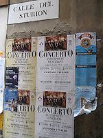 Vivaldi concerts, performed in local churches, are a favorite of locals and tourists in Venice.