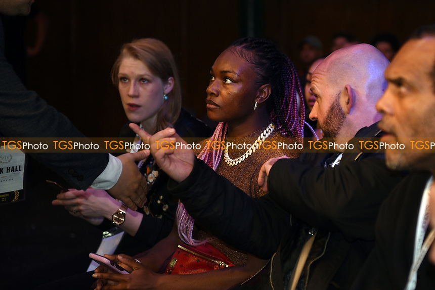 Claressa Shields during a Boxing Show at York Hall on 9th November 2019
