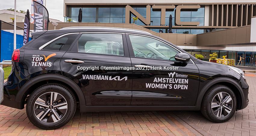 Amstelveen, Netherlands, 6 Juli, 2021, National Tennis Center, NTC, Amstelveen Womans Open, Vaneman cars, official cars<br /> Photo: Henk Koster/tennisimages.com