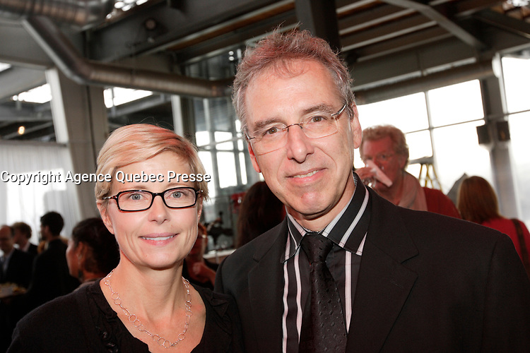 September 18, 2012 - Montreal (Qc) CANADA - Jacques Bouchard Fondation 5th benefit event at scena in Old-Port - <br /> <br /> <br /> <br /> FRENCH CAPTION BELOW : La Fondation Jacques-Bouchard lance sa 5e campagne de financement