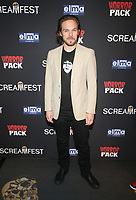 HOLLYWOOD, CA - OCTOBER 12: Stephen Steelman, at the 21st Screamfest Opening Night Screening Of The Retaliators at Mann Chinese 6 Theatre in Hollywood, California on October 12, 2021. Credit: Faye Sadou/MediaPunch