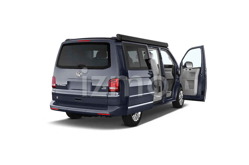 Car images of a 2014 Volkswagen CALIFORNIA COMFORTLINE EDITION BLUEMOTION 4 Door Minivan Doors