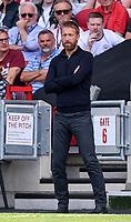 11th September 2021; Brentford Community Stadium, London, England;  Premier League football, Brentford versus Brighton Athletic; Graham Potter Manager of Brighton looks on frustrated