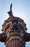 Barcellona, Spagna, Catalogna,  monumento a Cristoforo Colombo