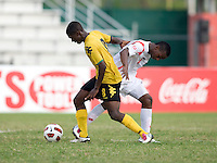 Panama defeated Jamaica, 1-0, during the third place game of the CONCACAF Men's Under 17 Championship at Catherine Hall Stadium in Montego Bay, Jamaica.