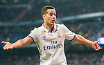Lucas Vazquez of Real Madrid celebrates during their La Liga match between Real Madrid and Real Sociedad at the Santiago Bernabeu Stadium on 29 January 2017 in Madrid, Spain. Photo by Diego Gonzalez Souto / Power Sport Images