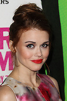 """LOS ANGELES, CA - FEBRUARY 04: Holland Roden at the Los Angeles Premiere Of The Weinstein Company's """"Vampire Academy"""" held at Regal Cinemas L.A. Live on February 4, 2014 in Los Angeles, California. (Photo by Xavier Collin/Celebrity Monitor)"""