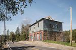 Odd Fellows hall, Big Oak Flat, California.