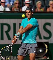 France, Paris, 04.06.2014. Tennis, French Open, Roland Garros, Rafael Nadal (ESP)<br /> Photo:Tennisimages/Henk Koster