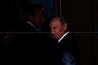02.08.2012 - Vladimir Putin (unofficially) at 10 Downing Street