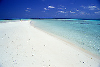 beach scene, Bangaram, Lakshadweep islands, India, Indian Ocean