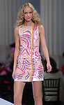 A model wears Blumarine at the Nordstrom's annual spring preview fashion show at The Corinthian Wednesday  Feb. 20,2008.(Dave Rossman/For the Chronicle)