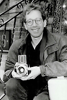 1986 FILE PHOTO - ARCHIVES -<br /> <br /> photographer William Deacon wears traditional brown tortoiseshell frames with an Ivy League style.<br /> <br /> 1986<br /> <br /> PHOTO :  Erin Comb - Toronto Star Archives - AQP