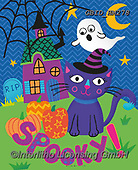Patrick, CUTE ANIMALS, LUSTIGE TIERE, ANIMALITOS DIVERTIDOS, paintings+++++,GBIDHM278,#ac#, EVERYDAY ,halloween ,ghosts