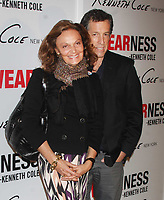 Diane Von Furstenberg & Kenneth Cole 11-12-08, Photo By John Barrett/PHOTOlink