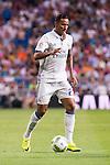 Real Madrid's player Danilo during the XXXVII Santiago Bernabeu Trophy in Madrid. August 16, Spain. 2016. (ALTERPHOTOS/BorjaB.Hojas)