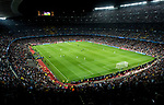Camp Nou, the home stadium of FC Barcelona, is seen during the UEFA Champions League 2017-18 match between FC Barcelona and Juventus at Camp Nou on 12 September 2017 in Barcelona, Spain. Photo by Vicens Gimenez / Power Sport Images