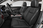 Front seat view of a 2015 Infiniti Q70 3.7 L 4 Door Sedan Front Seat car photos