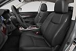Front seat view of a 2015 Infiniti Q70 3.7 L 4 Door Sedan Front Seat car photos