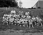 Bethel Park PA: Team photo of the Bethel Park Pony League All-Stars.  Names I can remember;   Bruce Evanovich, Chuck Singer, Coach Welch, Jim Dingeldine, Joe Fredley, Scott Streiner, Bobby McCarthy, Skip Uhl