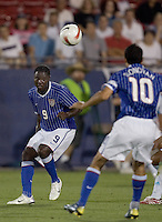 USA's Eddie Johnson during a 0-0 tie with Guatemala in Frisco, Texas, Wednesday, March 28, 2007.