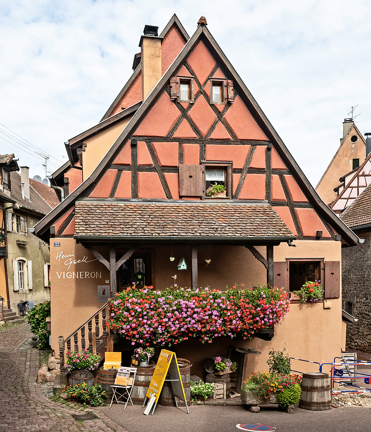 The Henri Gsell Winery in Eguisheim