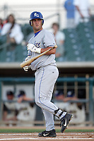 April 26 2004: Mike Napoli of the Rancho Cucamonga Quakes in action at The Epicenter in Rancho Cucamonga,CA.  Photo by Larry Goren/Four Seam Images