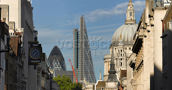 The Leadenhall Building,the City of London.