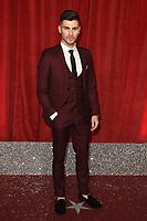 Owen Warner<br /> arriving for The British Soap Awards 2019 at the Lowry Theatre, Manchester<br /> <br /> ©Ash Knotek  D3505  01/06/2019