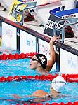 Aya Terakawa (JPN), <br /> JULY 30, 2013 - Swimming : Aya Terakawa of Japan reacts in the women's 100m backstroke final at the 15th FINA Swimming World Championships at Palau Sant Jordi arena in Barcelona, Spain.<br /> (Photo by Daisuke Nakashima/AFLO))