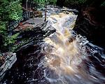 Canyon Falls, Michigan, June, 1991