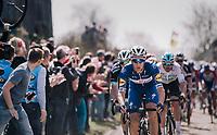 Niki Terpstra (NED/Quick-Step Floors)<br /> <br /> 116th Paris-Roubaix (1.UWT)<br /> 1 Day Race. Compiègne - Roubaix (257km)