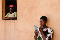 BURKINA FASO Boken, home for forced married women which have escaped / BURKINA FASO, Heim fuer zwangsverheiratete Frauen