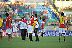 Yemen vs Iran during the 2014 AFC U19 Mens Championship group A match on October 11, 2014 at the Thuwunna Stadium, in Yangon, Myanmar. Photo by World Sport Group