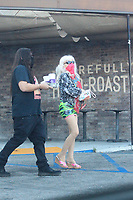 Angelyne Spotted Shopping In West Hollywood