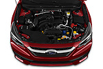 Car Stock 2020 Subaru Legacy Premium 4 Door Sedan Engine  high angle detail view