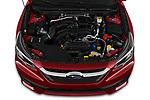 Car Stock 2020 Subaru Legacy Premium 4 Door Sedan Engine  high angle detail view