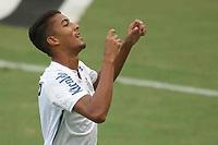 Santos (SP), 27.01.2020 - Santos-Botafogo - O jogador bruno marques comemora gol. Partida entre Santos e Botafogo valida pela 30. rodada do Campeonato Brasileiro neste domingo (27) no estadio da Vila Belmiro em Santos.