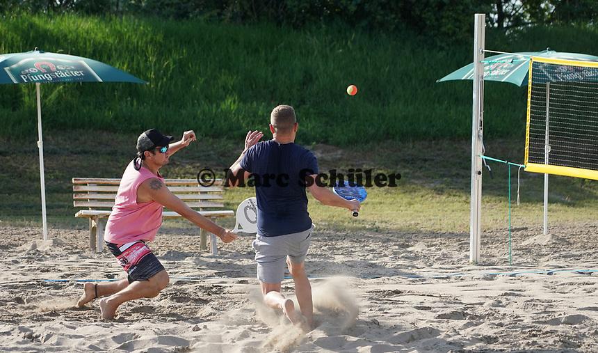 Beach Tennis wird jetzt beim FC Germania Leeheim angeboten - Leeheim 16.06.2021: Beach Tennis