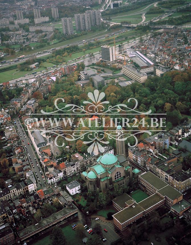 November 1998. Sint-Laurentiuskerk in Antwerpen.