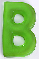 Green Gummi Letter