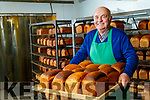 Gerard McCarthy who is retiring after 47 years from Larkins Bakery, Milltown.
