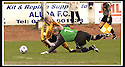 13/04/2002                 Copyright Pic : James Stewart .Ref :     .File Name : stewart-alloa v berwick 05.PAUL MATHERS PULLS DOWN ALLOA'S TOM BROWN......James Stewart Photo Agency, 19 Carronlea Drive, Falkirk. FK2 8DN      Vat Reg No. 607 6932 25.Office     : +44 (0)1324 570906     .Mobile  : +44 (0)7721 416997.Fax         :  +44 (0)1324 570906.E-mail  :  jim@jspa.co.uk.If you require further information then contact Jim Stewart on any of the numbers above.........