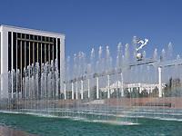 Platz der Unabhängigkeit - Mustaqillik Maydoni-, Taschkent, Usbekistan, Asien<br /> Inependence Square  - Mustaqillik Maydoni-, Tashkent, Uzbekistan, Asia